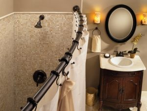 KBIS 2013 - Moen - Tension Curved Shower Rod