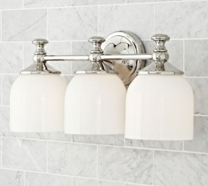 CJ2 - Mercer Triple Sconce - PB