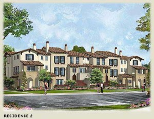 Townhome - Exterior Elevation