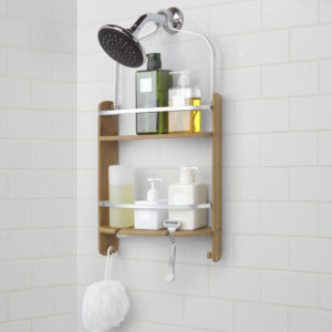 Ideal  the price difference between a basic model at Target or Bed Bath and Beyond and the Umbra Barrel Shower Caddy will be minimal over time