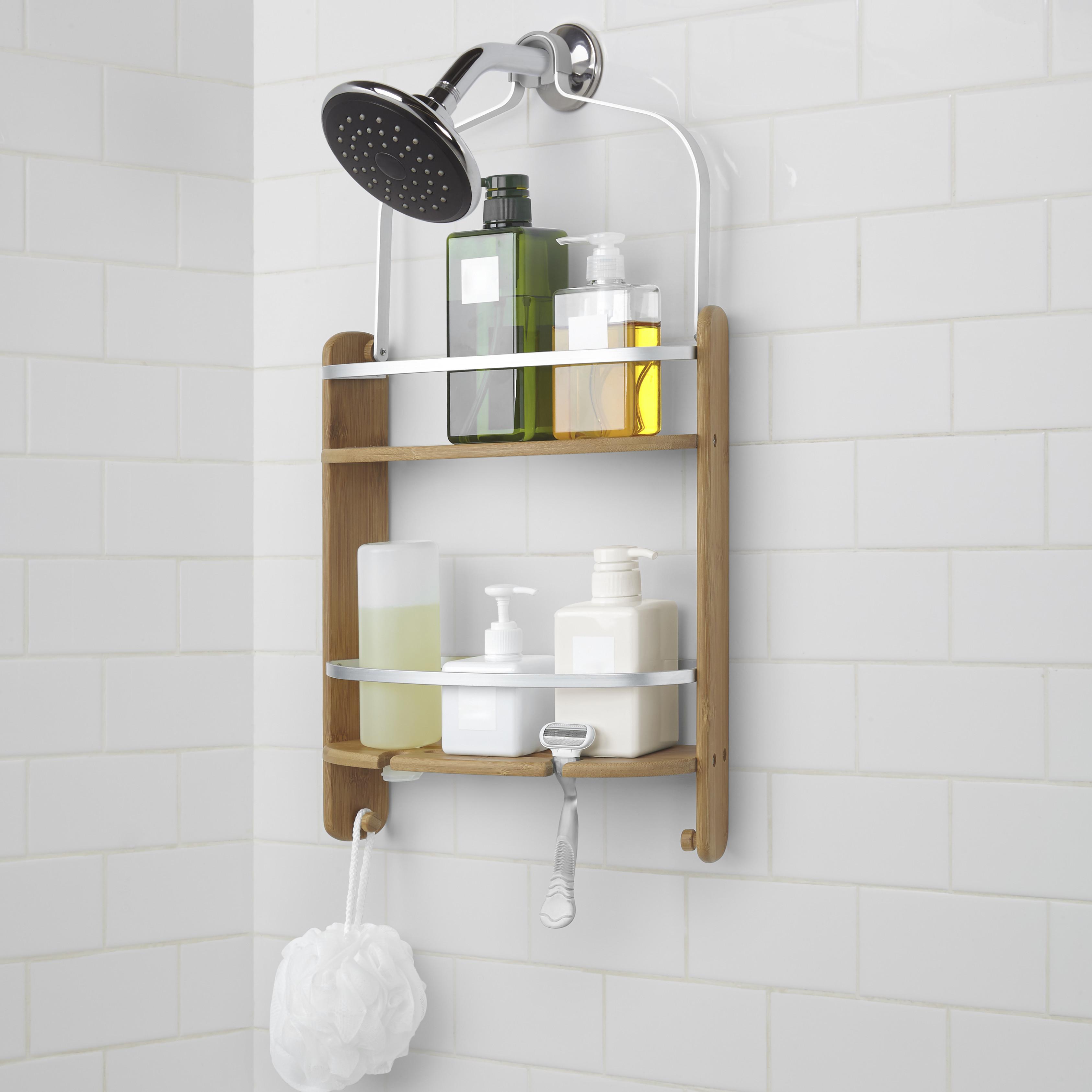 Umbra-Barrel-Wood-Hanging-Shower-Caddy (1) - Jamie Gold Kitchen and ...