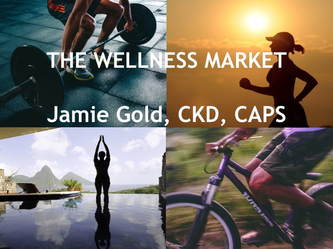 Speaking & Training: Wellness market