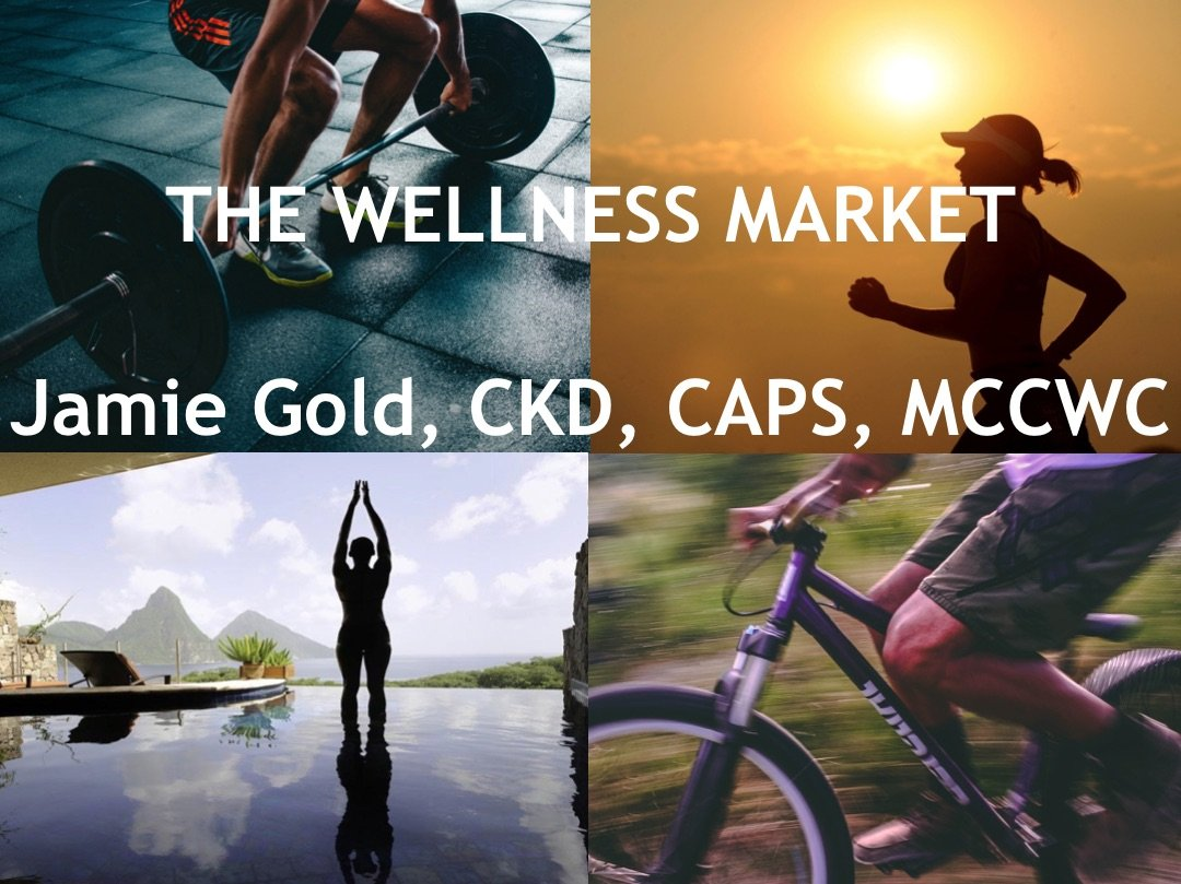 Speaking & Training: Wellness market