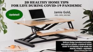 20 Healthy Home Tips for Life During COVID19 Pandemic