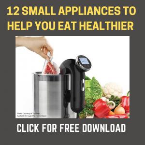 Small Appliances Tip Sheet Promo